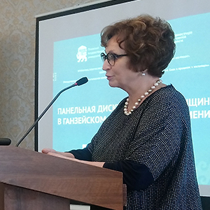 Discussing Women's Role in Economy in Pskov